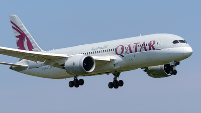 A picture of A7BCE - Boeing 7878 Dreamliner - Qatar Airways - © Nico282