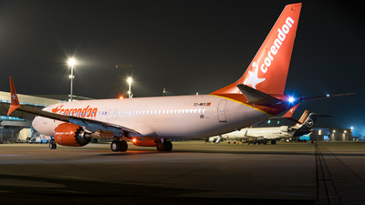 A picture of TCMKS - Boeing 737 MAX 8 - Corendon Airlines - © Sam Albers