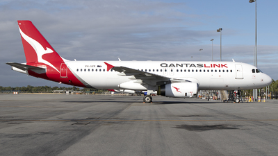 VH-UVK - Airbus A320-232 - QantasLink (Network Aviation)