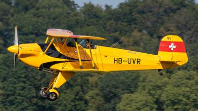 HB-UVR - Bücker Jungmann CASA 1131 E - Private