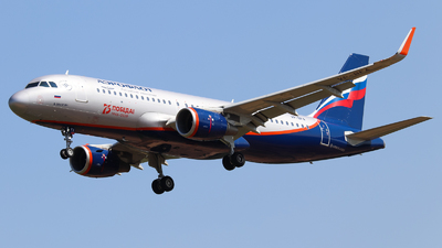 A picture of VPBFA - Airbus A320214 - Aeroflot - © Vitaly Revyakin