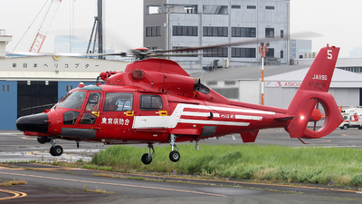 A picture of JA119G - Airbus Helicopters AS365 Dauphin - [6893] - © Huy Do