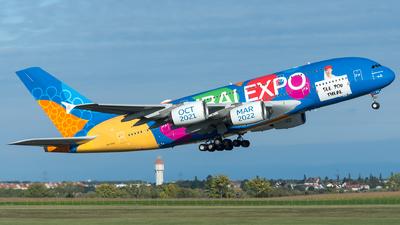 A6-EEU - Airbus A380-861 - Emirates