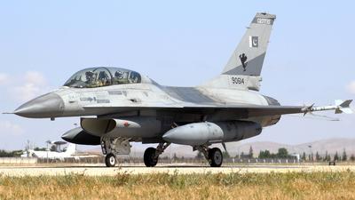 90614 - General Dynamics F-16BM Fighting Falcon - Pakistan - Air Force
