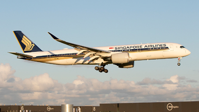 A picture of 9VSMW - Airbus A350941 - Singapore Airlines - © Freek Blokzijl
