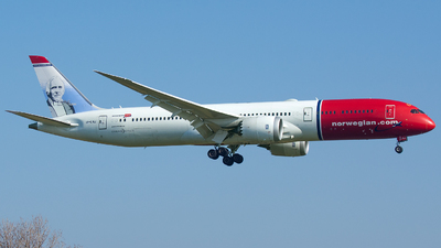 A picture of LNLNJ - Boeing 7879 Dreamliner - Norwegian - © Aldo Bidini