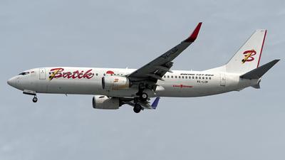 PK-LDP - Boeing 737-8GP - Batik Air