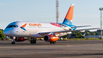 A picture of RA89136 - Sukhoi Superjet 10095LR - Azimuth - © Alexander Lebedev