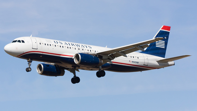 N640AW - Airbus A320-232 - US Airways