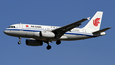 A picture of B6022 - Airbus A319131 - Air China - © wangpaul