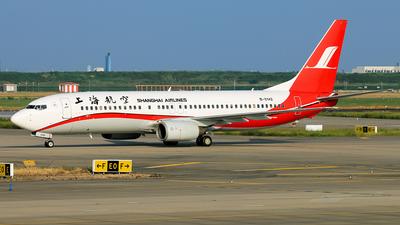 B-5142 - Boeing 737-8Q8 - Shanghai Airlines