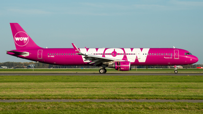 TF-PRO - Airbus A321-211 - WOW Air