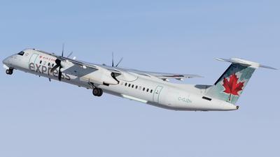 A picture of CGJZH - De Havilland Canada Dash 8400 - Air Canada - © Mike MacKinnon