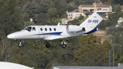 OK-PBS - Cessna 525 CitationJet 1 - Queen Air