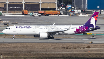 A picture of N208HA - Airbus A321271N - Hawaiian Airlines - © David Lee