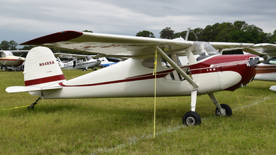 N9489A - Cessna 140A - Private