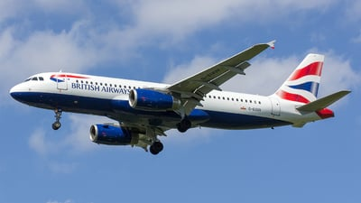 G-EUUV - Airbus A320-232 - British Airways