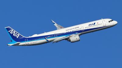 JA142A - Airbus A321-272N - All Nippon Airways (ANA)