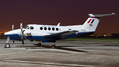 ZK455 - Beechcraft B200 Super King Air - United Kingdom - Royal Air Force (RAF)