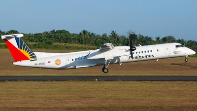 A picture of RPC5910 - De Havilland Canada Dash 8400 - Philippine Airlines - © Gerard Belvis