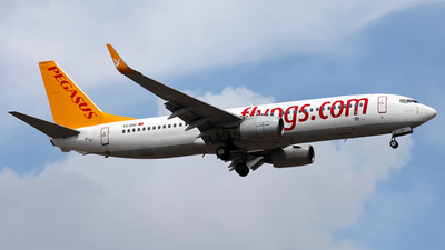 TC-IZG - Boeing 737-8AS - Pegasus Airlines