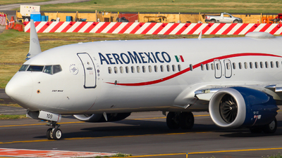 N109JS - Boeing 737-8 MAX - Aeromexico