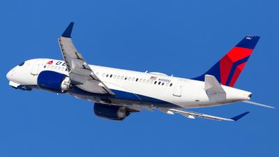 A picture of N108DQ - Airbus A220100 - Delta Air Lines - © HA-KLS