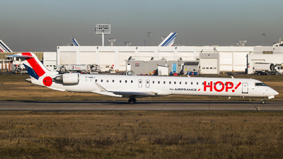 F-HMLI - Bombardier CRJ-1000 - HOP! for Air France