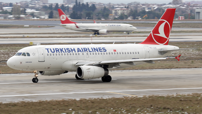 TC-JLR - Airbus A319-132 - Turkish Airlines