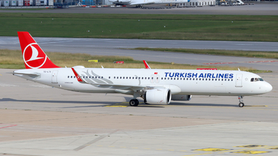 A picture of TCLTI - Airbus A321271NX - Turkish Airlines - © Justin Stöckel