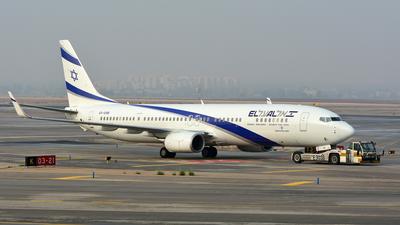 4X-EHB - Boeing 737-958ER - El Al Israel Airlines