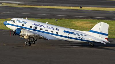 ZS-CAI - Douglas DC-3C - Springbok Classic Air