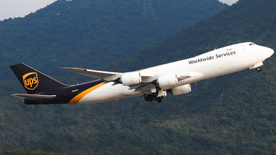 N625UP - Boeing 747-84AF - United Parcel Service (UPS)
