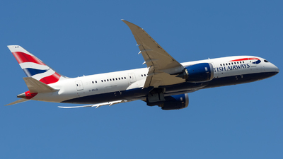 G-ZBJG - Boeing 787-8 Dreamliner - British Airways