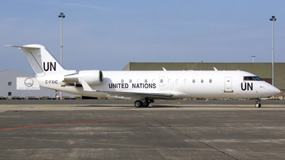 C-FXHC - Bombardier CRJ-200LR - United Nations (Voyageur Airways)