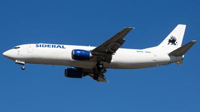 A picture of PRSDU - Boeing 7374B6(SF) - Sideral Linhas Aereas - © fachetti_spotter