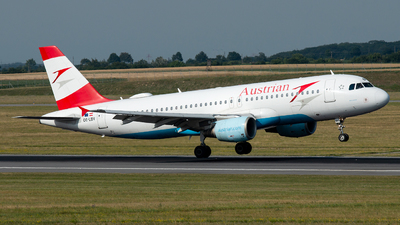 OE-LBV - Airbus A320-214 - Austrian Airlines