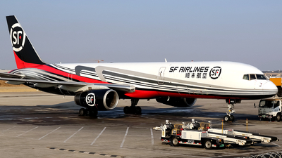 A picture of B1463 - Boeing 7572Z0(PCF) - SF Airlines - © yiran