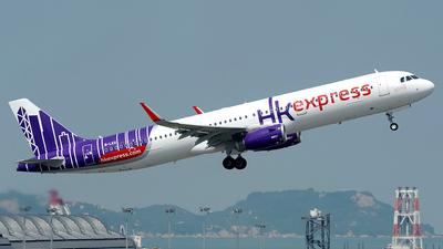B-LEG - Airbus A321-231 - Hong Kong Express