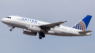 A picture of N812UA - Airbus A319131 - United Airlines - © HA-KLS