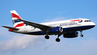 G-EUPN - Airbus A319-131 - British Airways
