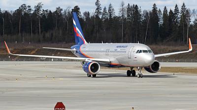 A picture of VQBPV - Airbus A320214 - Aeroflot - © Airyura