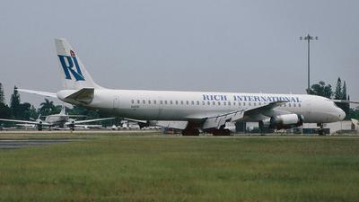 N4935C - Douglas DC-8-63 - Rich International