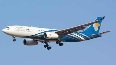 A picture of A4ODG - Airbus A330243 - Oman Air - © jeremy denton