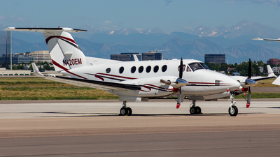 N420EM - Beechcraft B200 Super King Air - Private