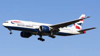 G-VIIF - Boeing 777-236(ER) - British Airways