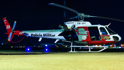 PR-SPI - Helibrás AS-350B2 Esquilo - Brazil - Military Police