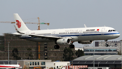 B-8502 - Airbus A321-232 - Air China