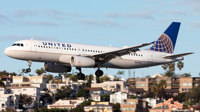 A picture of N402UA - Airbus A320232 - United Airlines - © Manuel Mueller