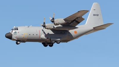 CH-07 - Lockheed C-130H Hercules - Belgium - Air Force